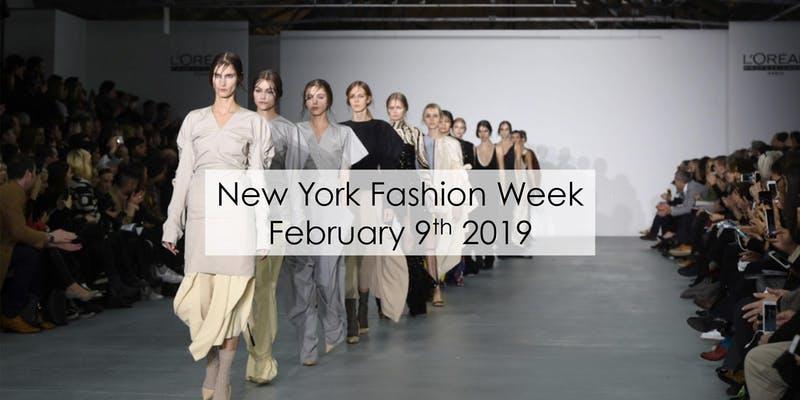 New York Fashion Week presented by Planet Fashion (Feb 9 5:30pm – 9pm)